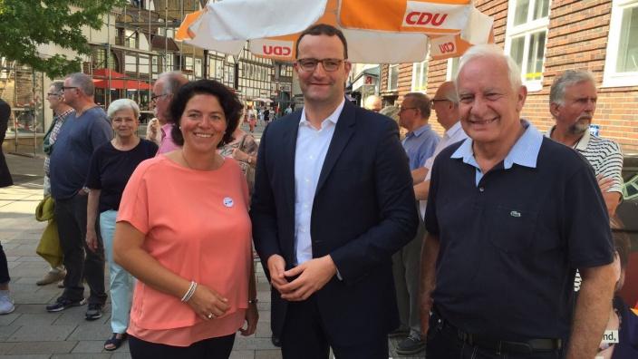 Kerstin Vieregge, Jens Spahn MdB und Cajus Caesar MdB