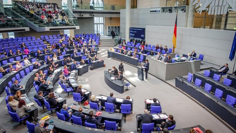 Kerstin Vieregge MdB spricht im Deutschen Bundestag (Archiv)