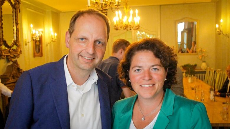 """Angeregte Diskussion in Lemgo mit Kerstin Vieregge und Thomas Heilmann: """"Die Digitalisierung verändert uns jetzt schon und in den kommenden 30 Jahren."""""""
