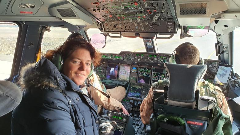 Im Landeanflug auf Kabul