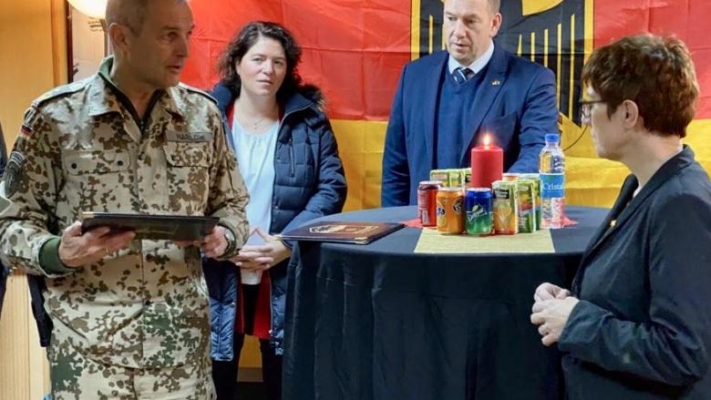 Adventsfeier in Mazar e-Scharif