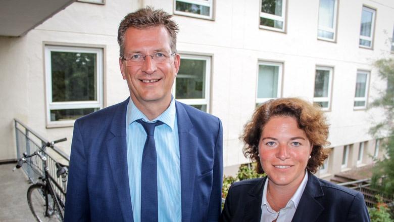 Dr. Ralf Brauksiepe und Kerstin Vieregge