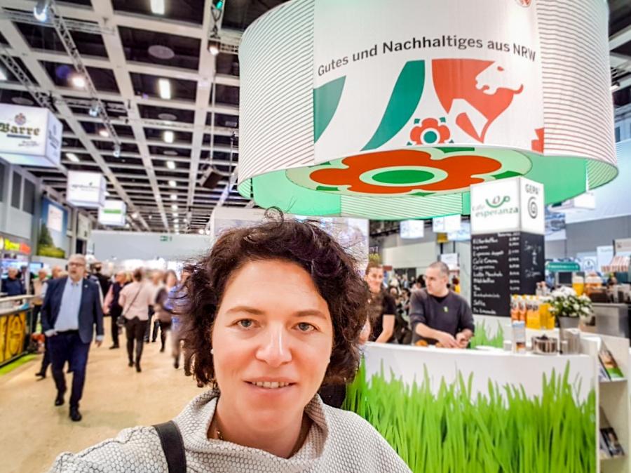 Kerstin Vieregge MdB auf der Grünen Woche - NRW Halle