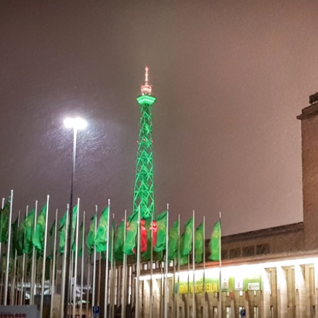 Internationale Grüne Woche Berlin 2018 - Funkturm