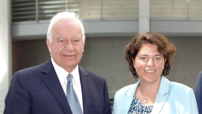 Kerstin Vieregge freut sich auf die Zusammenarbeit mit Cajus Caesar als neuem Waldbeauftragten der Bundesregierung.