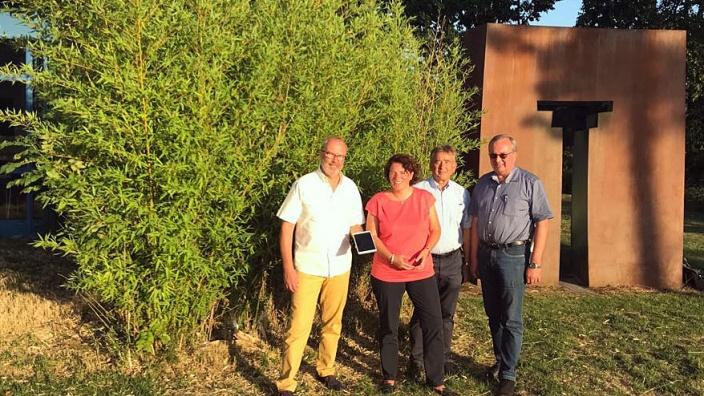 Kerstin Vieregge informiert sich über neuen Ideen in Oerlinghausen