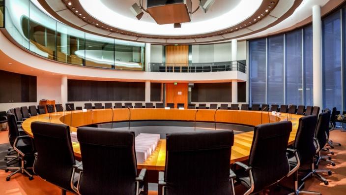 Ausschusssaal des Deutschen Bundestages