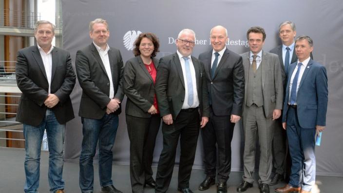 Deutsche und tschechische Parlamentarier im Gespräch
