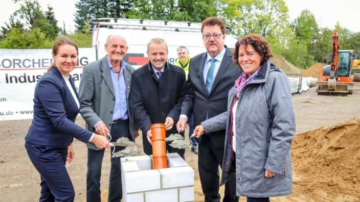 Baubeginn dank Unterstützung des Bundes im Kalletal